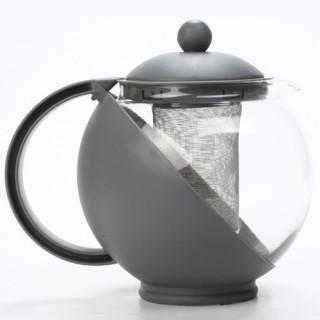 Théière Filtre - 1,25 L. - Gris clair