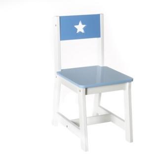 Chaise Enfant - MDF - Bleu
