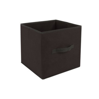 Boîte de rangement - 31 x 31 cm. - Noir