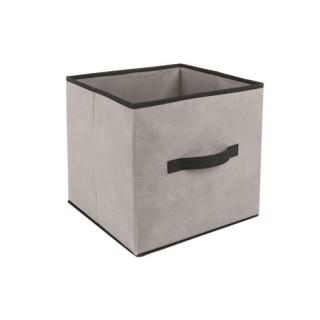 Boîte de rangement - 31 x 31 cm. - Lin