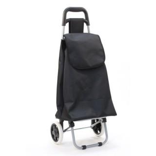 Chariot de marché Aquarelle - 30 L - Noir