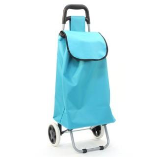 Chariot de marché - Bleu