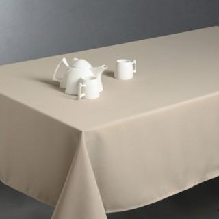 Nappe anti-taches - 150 x 300 cm - Couleur lin