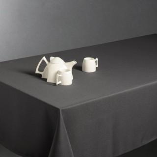 Nappe anti-taches - 150 x 300 cm - Gris foncé