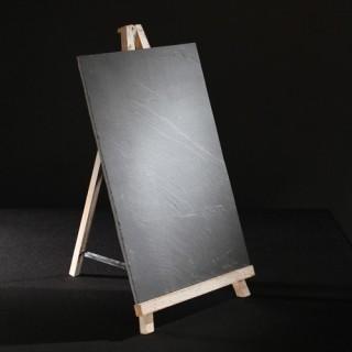 Ardoise Menu sur chevalet - 28 x 45 cm