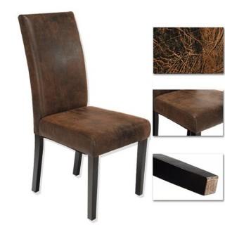 Chaise de salon - Tissu vieilli