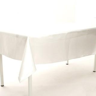 Nappe Satin - 140 x 240 cm - Blanc