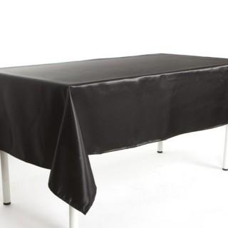 Nappe Satin - 140 x 240 cm - Noir