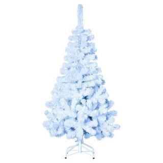 Sapin de Noël artificiel 100% Floqué - H. 180 cm - Blanc