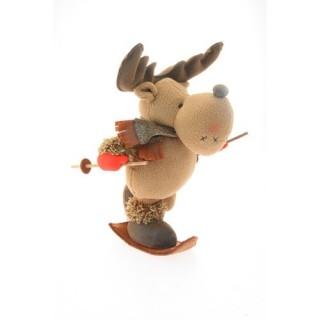 Peluche de Noël Renne - H. 41 cm