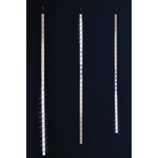 Guirlande de Noël d'extérieur lumineuse Stalactites - 6 m. - Lumière blanche