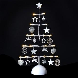Décoration de Noël lumineuse Sapin - Métal