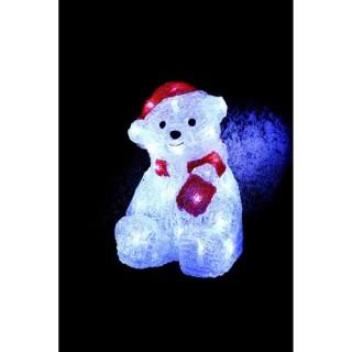 Décoration de Noël lumineuse d'extérieur - Ourson