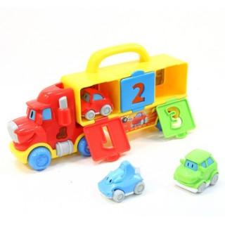 Camion musical et 3 Petites Voitures