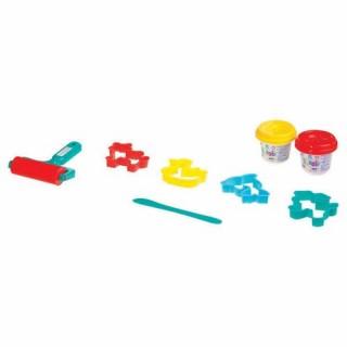Kit Pâte à modeler Rouleau - 2 Pots