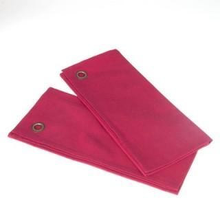 2 Torchons - Coton - Rose