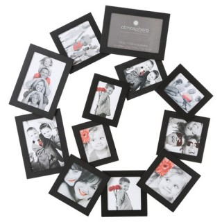 Pêle-mêle Spirale - 12 photos - Noir