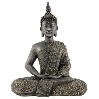 2 Stickers vitre Zen - 33 x 45 cm - Bouddha