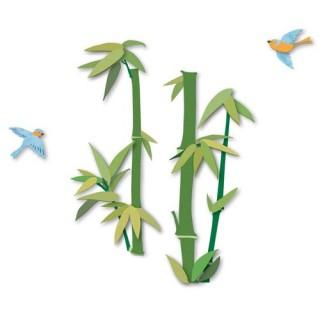 Sticker 3D Bucolique - Bambou