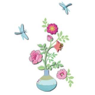 Sticker 3D Bucolique - Bouquet