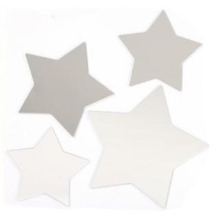 Stickers Miroir - 15 x 15 cm - Etoile