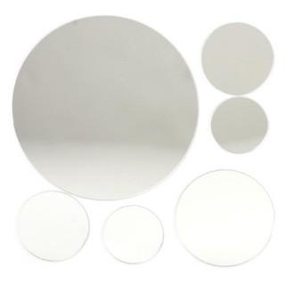 Stickers Miroir - 15 x 15 cm - Rond