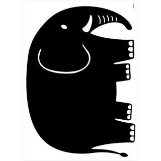 Sticker Ardoise Animaux - 30 x 40 cm - Elephant