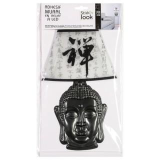 Sticker LED 3D Lampe Zen - Bouddha signe