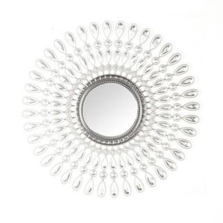 Sticker miroir Strass - 40 x 40 cm - Rond
