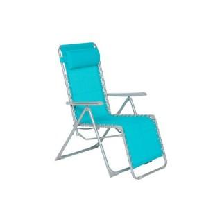 Fauteuil Relax Silos - Bleu lagon