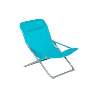 Fauteuil Relax Cueri - Bleu lagon