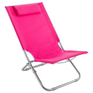 Chaise de plage Caparica - Rose