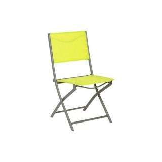 Chaise Modula - Vert granny et mastic