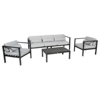 Salon de jardin Figari - 5 Places - Aluminium