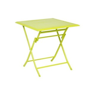 Table pliante Azua - 2 Places - Vert granny