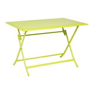 Table pliante Azua - 4 Places - Vert granny