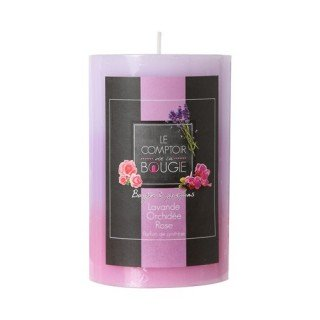 Bougie parfumée Trio - Lavande, orchidée et rose