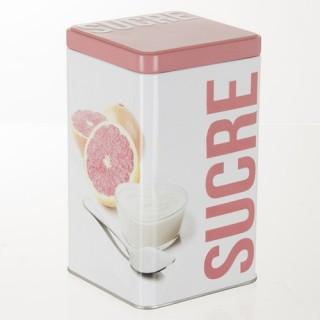 Boîte à sucre en poudre Relief - Métal