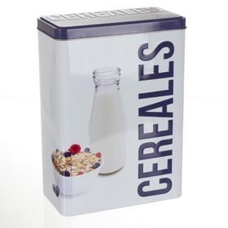 Boîte à céréales Relief - Métal