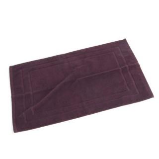 Tapis de bain - 70 x 50 cm. - Bordeaux