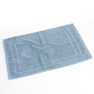Tapis de bain - 70 x 50 cm. - Bleu