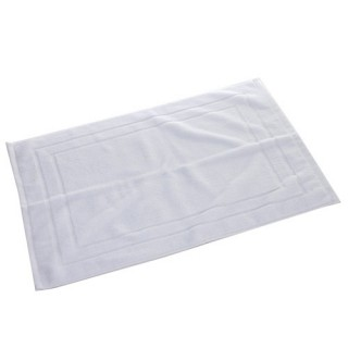 Tapis de bain - 70 x 50 cm. - Blanc
