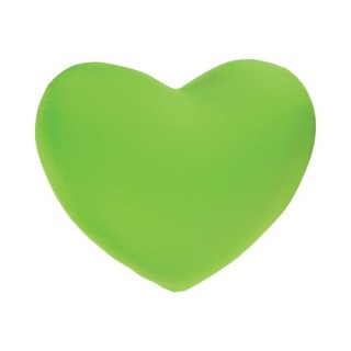 Coussin Coeur - Microbilles - Vert