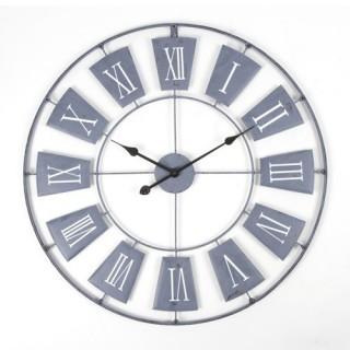 Pendule - Diam. 76 cm. - Metal