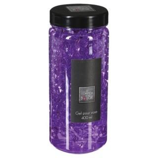 Gel pour vase Crystal - 400 ml. - Violet