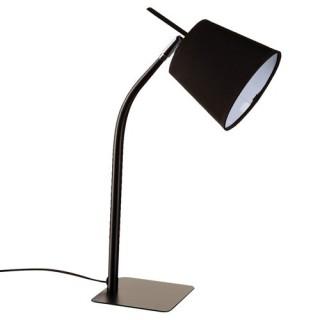 Lampe métal couleur - H. 40 cm. - Noir