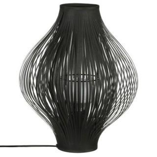 Lampe pliante - H. 44 cm. - Noir