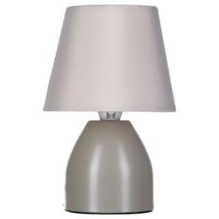 Lampe de chevet - Diam. 12,5 cm. - Taupe