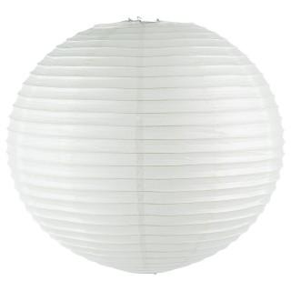 Lanterne Boule - Diam. 60 cm. - Blanc