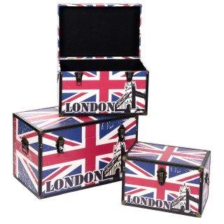 3 Malles London - MDF